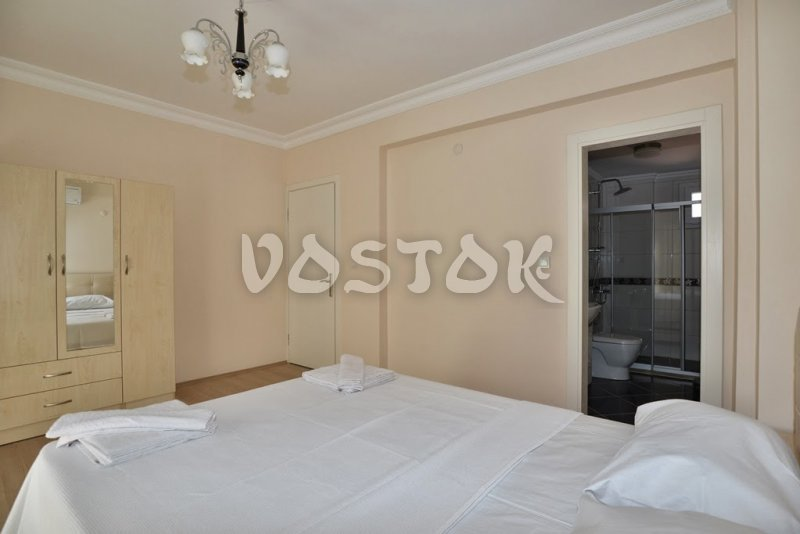 Double bedroom with ensuite bathroom - Talia Villa in Calis Fethiye