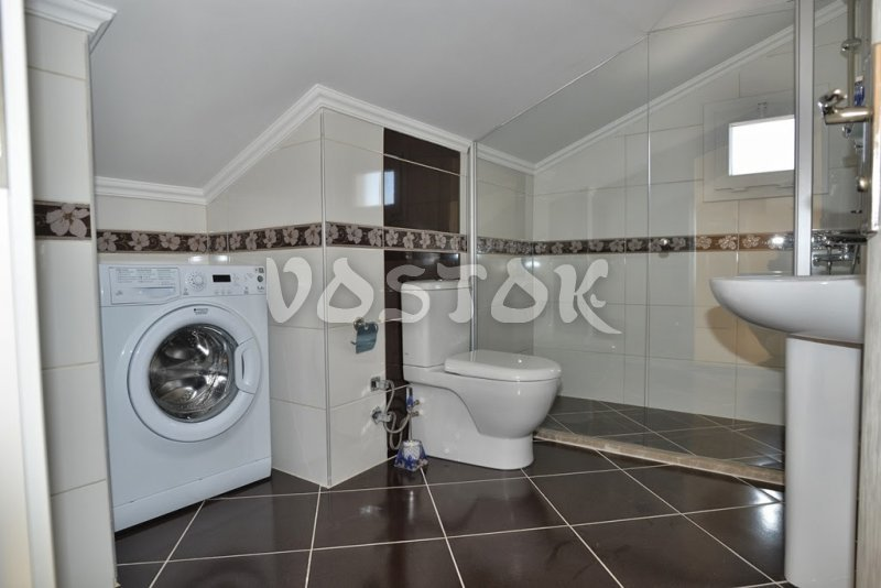Attic floor bathroom - Talia Villa in Calis Fethiye