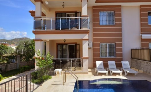 <p>This new Mango villa for rent very close to the Calis Beach in Fethiye Turkey. Villa Mango has 6 bedroom and 3 storey large villa with private pool and garden will be an excellent opportunity. It is good place for large families and big enough up to 14 persons. </p>