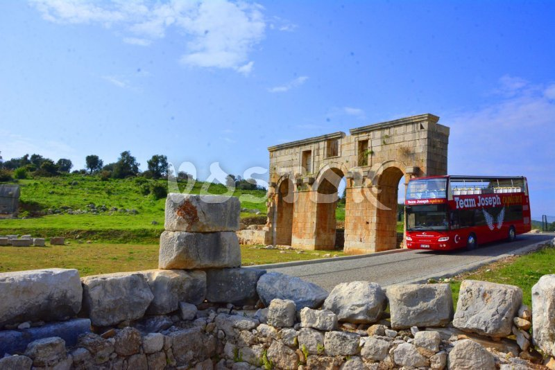 Entrance to the Patara ancient city - Monty Route Tour