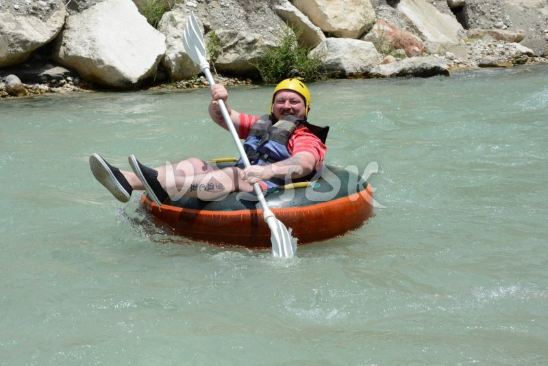 Rafting is good fun for any ages - Monty Route Tour