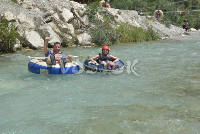 Saklikent rafting is good opportunity to cool off in summer heat -  Monty Route Tour