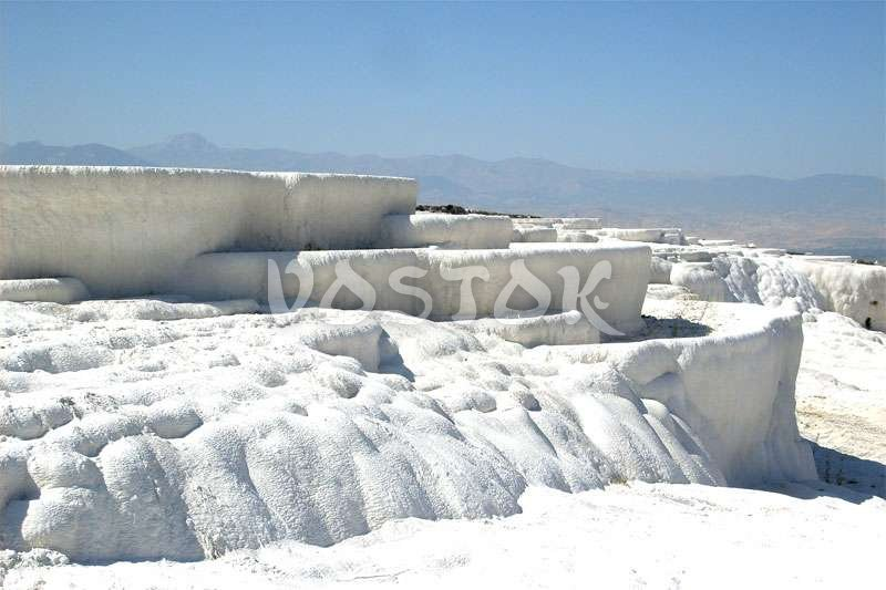 Amazing natural wonder in Pamukkale