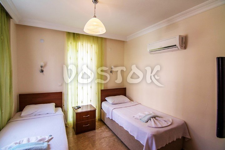 Twin bedroom - Villa Arna in Ovacik Turkey