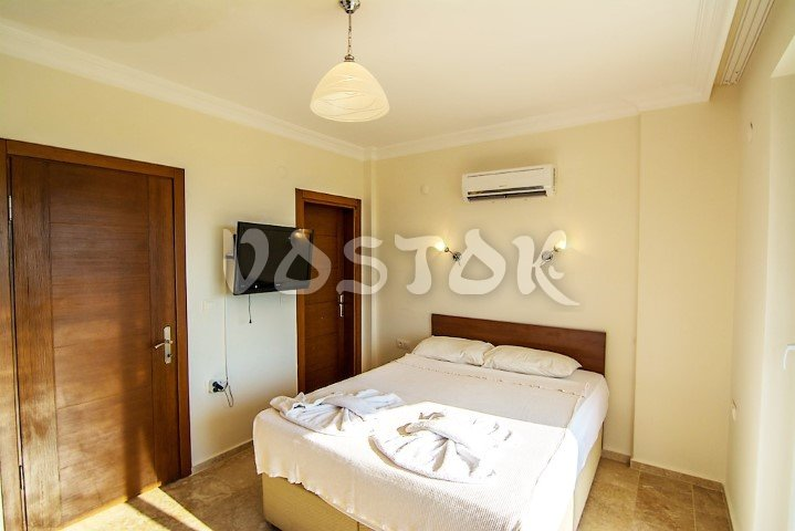 Flat TV in double bathroom - Villa Arna in Ovacik Turkey