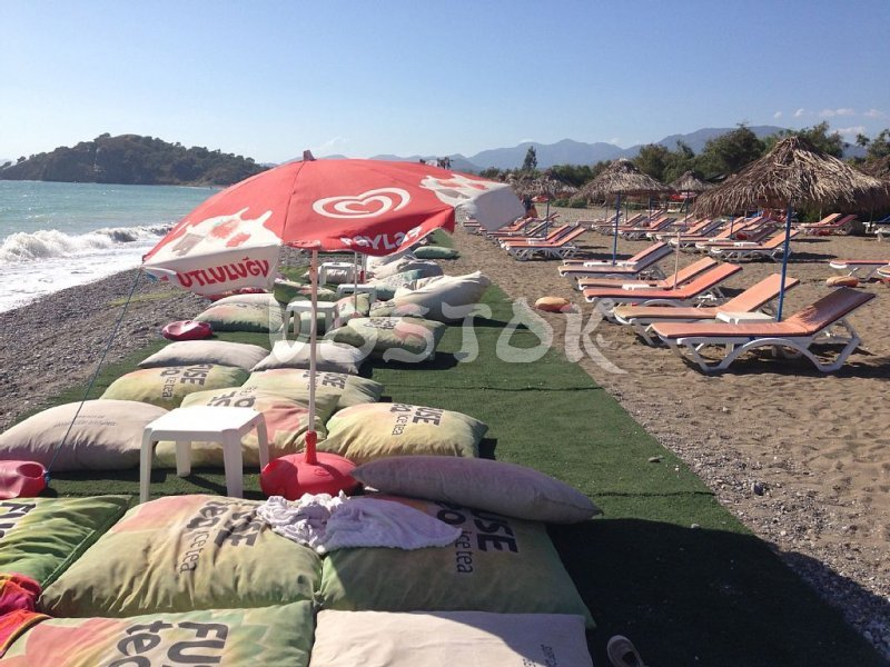 Beach in walking distance from Fethiye Oasis Village Yaniklar