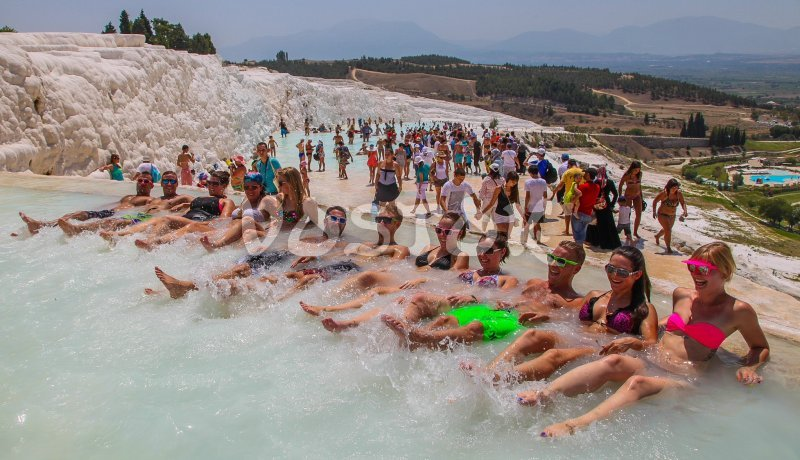 Pamukkale pools - great place for fun