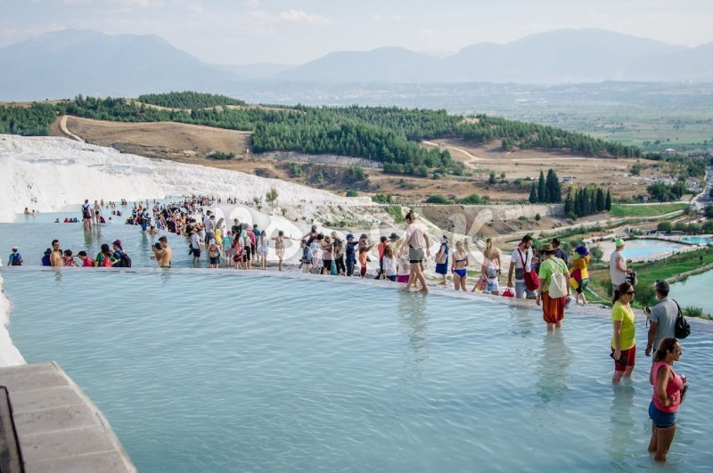 Pamukkale is just amazing place with incredible scenery
