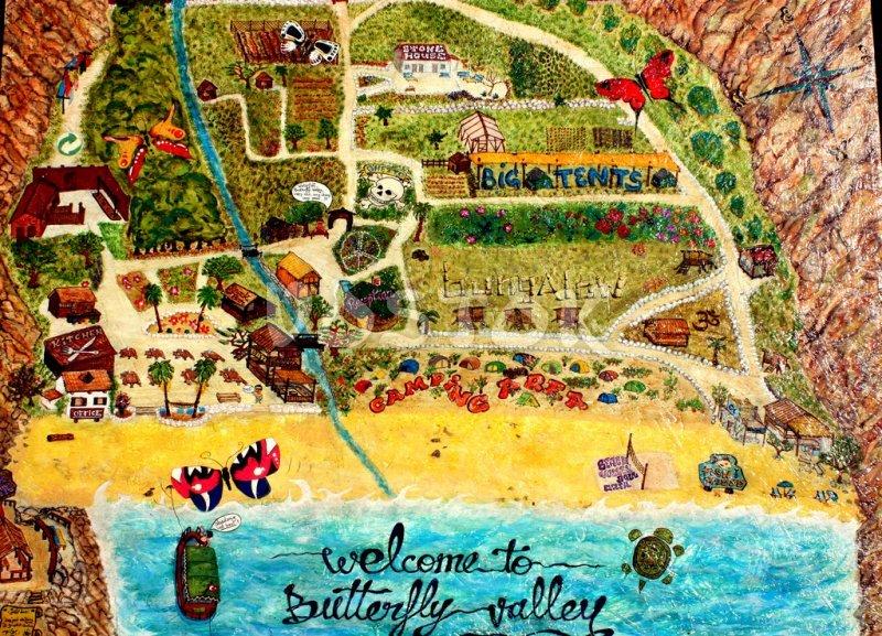 Butterfly Valley in Fethiye Turkey Butterfly Valley beach near