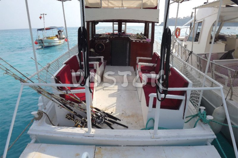 Special fishing boat for Fethiye fishing tours