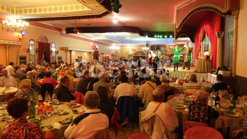 Turkish night show is mix of traditional Turkish kitchen and Turkish culture