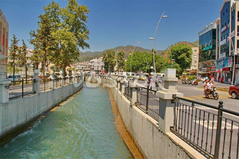 Marmaris water channel