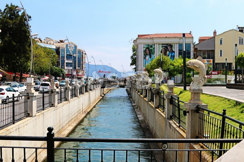 Water channel in Marmaris