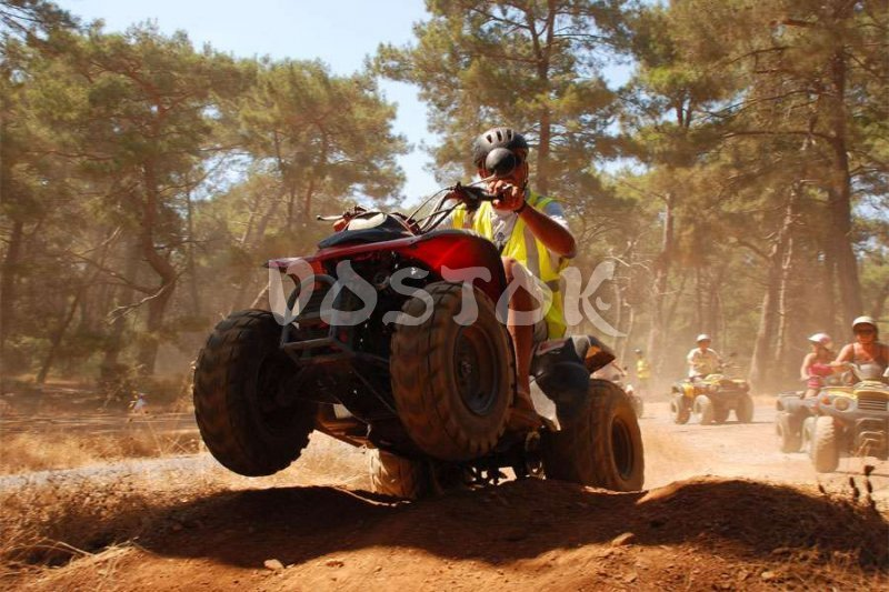 Hey, I am going to take my quad bike off - Quad Bike Safari in Fethiye