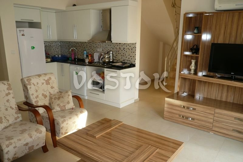 Open plan kitchen - Blue Green Apartments Calis Beach