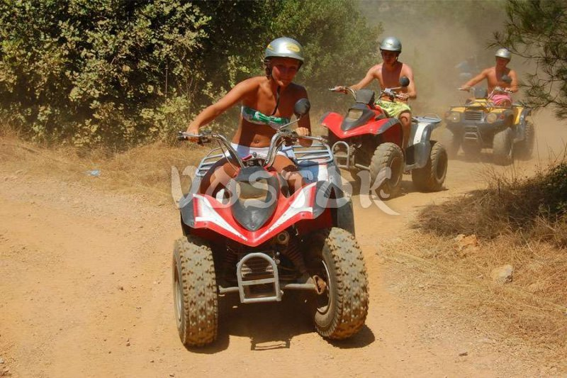 2-in-1 - adventure and sunbathing -  - Quad Bike Safari in Kayakoy