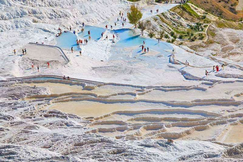 Private Pamukkale tour from Oludeniz