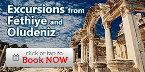 Excursions and guided tours from Fethiye and Oludeniz
