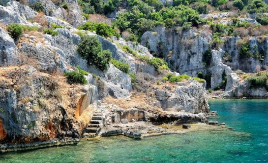 Kekova Sunken City