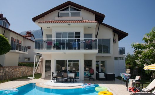 <p>Orka Valley Villas complex is located in the lower valley of Ovacik near Oludeniz Water World Aquapark. It is a quiet and cozy place with a private pool for relaxing family holidays in Turkey.</p>
